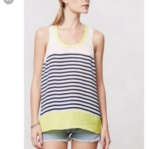 Anthropologie Maeve striped top